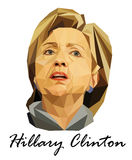 Portrait United States presidential candidate Hillary Clinton Stock Photography