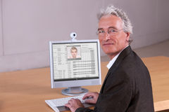 Portrait of University Lecturer Royalty Free Stock Photo