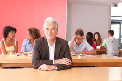 Portrait of University lecturer Royalty Free Stock Photos