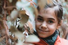 Portrait urbain de petite fille Photo libre de droits