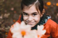 Portrait urbain de petite fille Images libres de droits