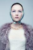 Portrait of urban fashionista. Stock Images