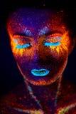 Portrait UV Image stock