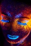Portrait UV Photographie stock libre de droits
