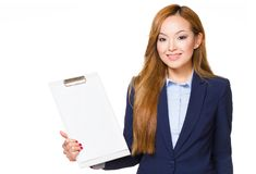 Very stylish young asian businesswoman. Stock Images