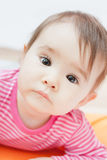 Portrait of very sweet little girl. Portrait of adorable little girl Royalty Free Stock Photos
