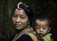 Portrait Vietnam Images libres de droits