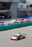 Portrait view of team JLOC at superGT Race Royalty Free Stock Images