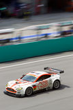 Portrait view of Team A Speed at the superGT Race Royalty Free Stock Photos