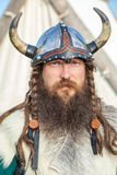 Portrait of Viking Stock Photo