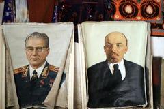 Portrait Vladimir Lenin Stock Images