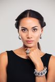 Portrait of a vogue female model Stock Photo