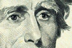 Portrait von Andrew Jackson Stockbilder