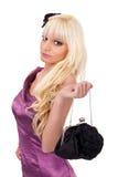Portrait von Art und Weise blond Lizenzfreies Stockfoto