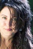 Portrait von Brunette Lizenzfreie Stockfotografie