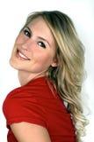 Portrait von einem schönen blonden Lizenzfreies Stockfoto