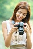 Portrait von jungem schönem Lizenzfreies Stockfoto