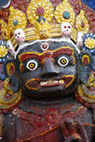 Portrait von kali in Katmandu, Lizenzfreie Stockfotos