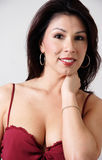 Portrait von reizvollem Latina stockfoto