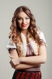 Portrait von schönem Lizenzfreies Stockfoto