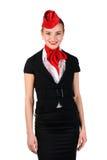 Portrait von Stewardess Stockbild