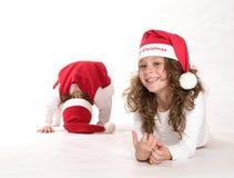 Portrait von Weihnachten stockbilder
