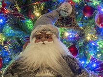 Portrait von Weihnachtsmann Stockfotografie
