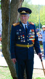 Portrait of a war veteran Royalty Free Stock Images