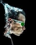 Portrait with splash Stock Image