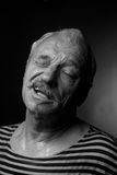 Portrait of a wet man Stock Photos