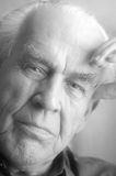 Portrait of wistful senior Stock Photos