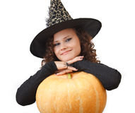 Portrait of a witch. Stock Photos