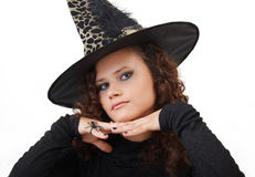 Portrait of a witch. Stock Image