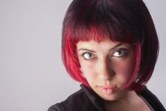 Portrait With Red Hair Royalty Free Stock Images