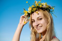 Portrait of woman Royalty Free Stock Photo