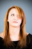 Portrait of the  woman Stock Photos
