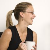 Portrait of woman. Royalty Free Stock Image