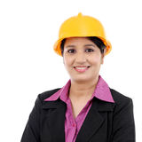 Portrait of woman architect Stock Photo