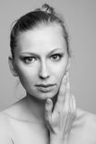 Portrait of the woman. Royalty Free Stock Photo