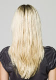 Portrait of a woman from behind Stock Photos
