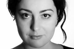 Portrait of a woman close up. Stock Photos