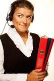 Portrait of woman customer service worker Royalty Free Stock Images