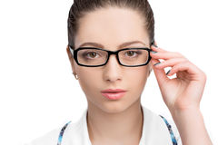 Portrait of woman doctor Royalty Free Stock Image