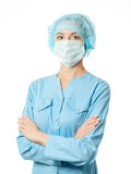 Portrait woman doctor Royalty Free Stock Images