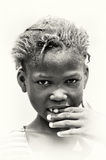 A portrait of a woman from Ghana Royalty Free Stock Photo