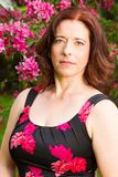Portrait of a woman in her forties Stock Photos