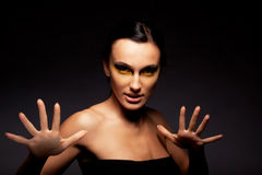 Portrait of a woman. Royalty Free Stock Images