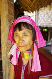 Portrait of a woman Kayan lahw Stock Photography