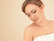 Portrait of woman with make-up Royalty Free Stock Image