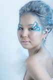 Portrait of woman with makeup Royalty Free Stock Images